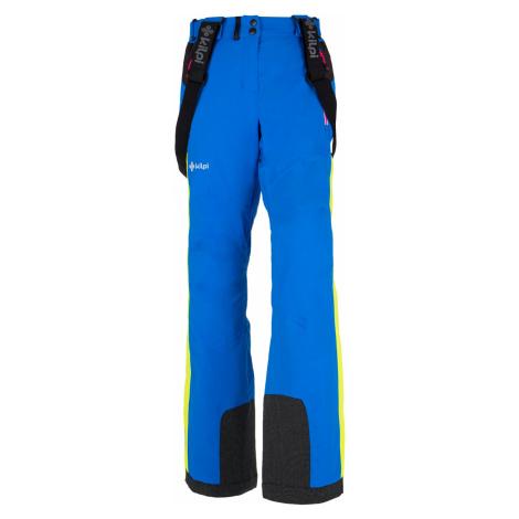 KILPI Dámské lyžařské kalhoty TEAM PANTS X-W AL9006KIBLU Modrá