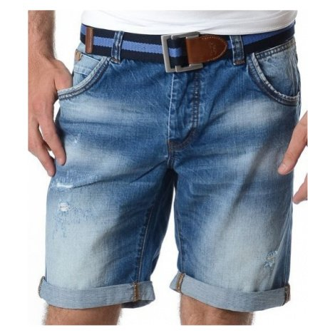 Kraťasy Heavy Tools Wray denim