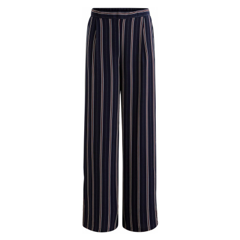 Tmavě modré pruhované kalhoty – Vinaeva