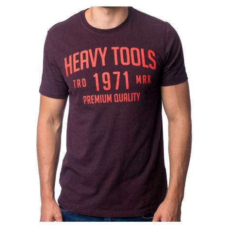 Tričko Heavy Tools Mad berry