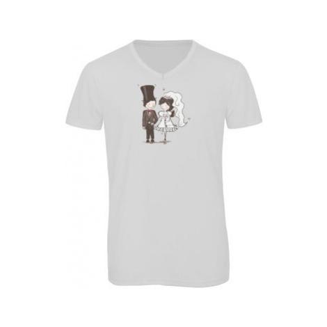 Pánské triko s výstřihem do V Svatba