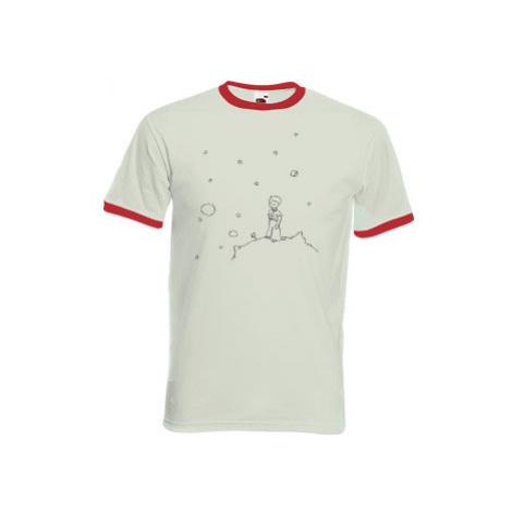 Pánské tričko s kontrastními lemy Malý princ