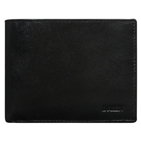 Men´s leather wallet without clasp black Fashionhunters