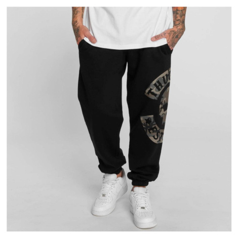 Thug Life / Sweat Pant B.Camo in black