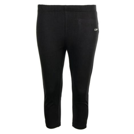 ALPINE PRO DAGANA černá - Dámské capri kalhoty