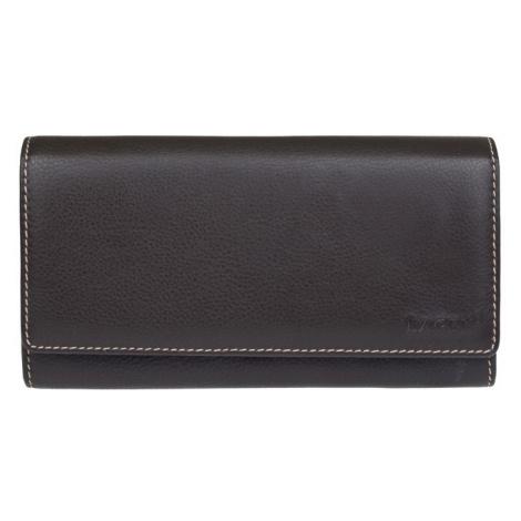 Dámská kožená peněženka Lagen Jiřina - hnědo-šedá