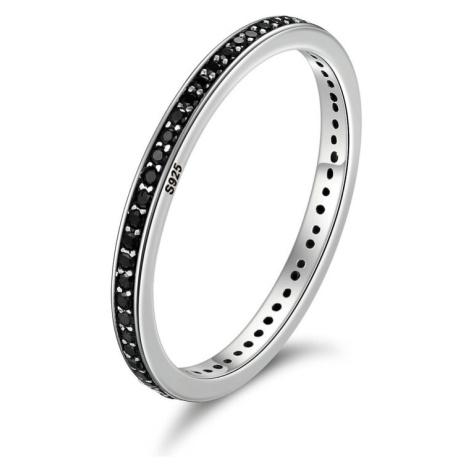 Stříbrný prsten s barevnými kamínky zirkony různých barev