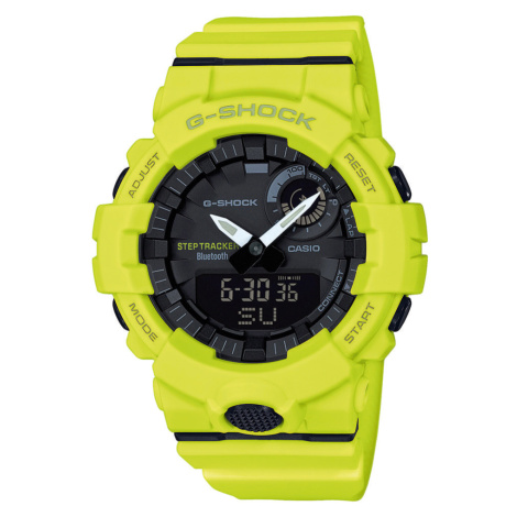 Casio G-Shock GBA 800-9AER neon zelené