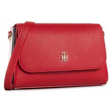 Tommy Hilfiger dámská červená crossbody kabelka