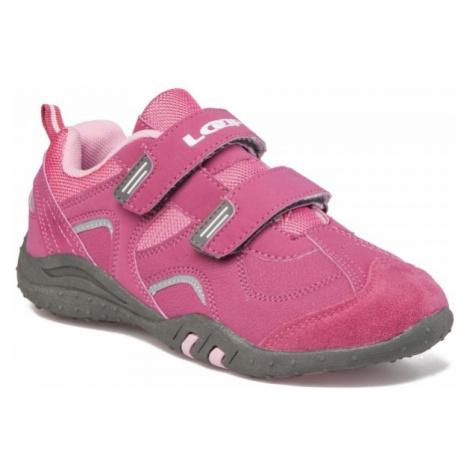 Loap MICKEY KID růžová - Dětská vycházková obuv