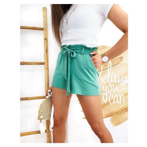 LOVELS women's green shorts SY0191 DStreet
