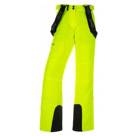 KILPI Dámské lyžařské kalhoty ELARE-W JL0011KIYEL Žlutá