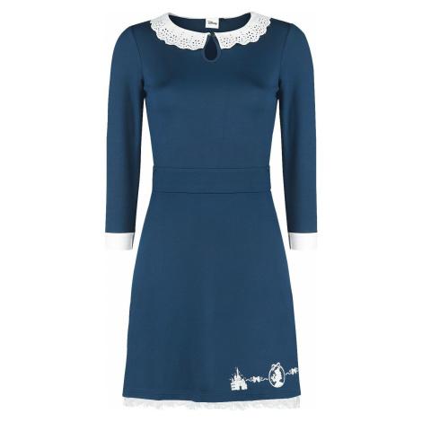 Kráska a zvíře Silhouettes šaty námořnická modrá