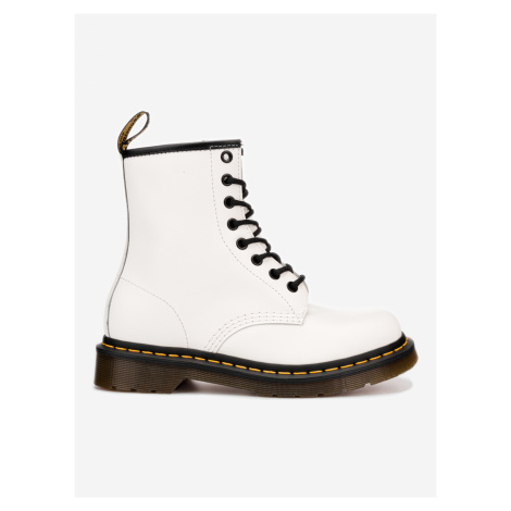 1460 Smooth White Kotníková obuv Dr. Martens Bílá Dr Martens