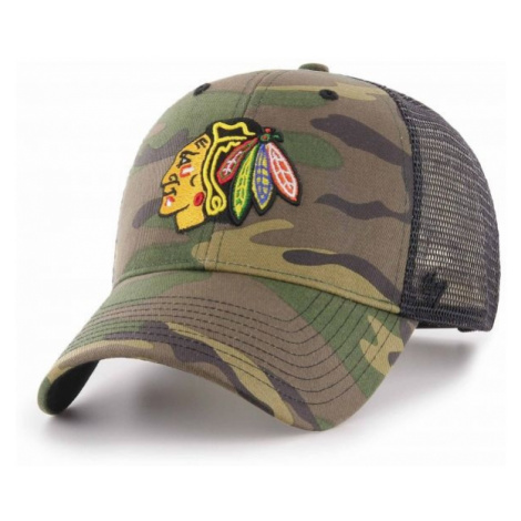 47 NHL CHICAGO BLACKHAWCKS CAMO BRANSON 47 MVP hnědá - Kšiltovka