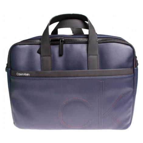 Calvin Klein pánská tmavě modrá brašna pro laptop