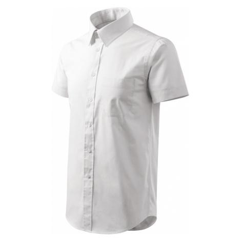 Malfini Shirt short sleeve Pánská košile 20700 bílá