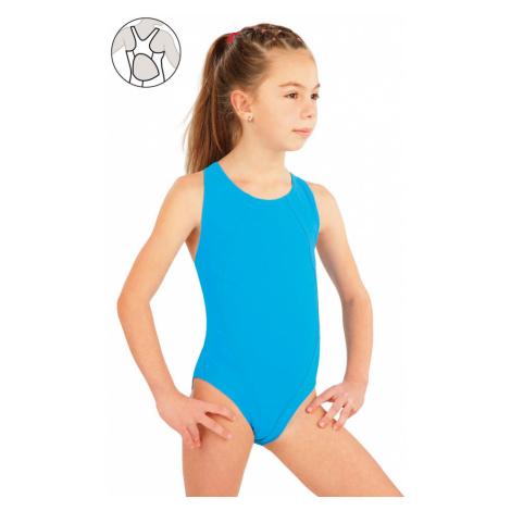 LITEX Dívčí jednodílné sportovní plavky. 57592