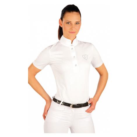 LITEX Triko dámské s krátkým rukávem. J1165100 Bílá