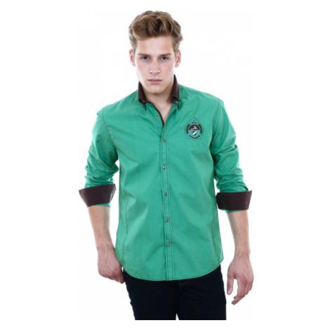 PONTTO košile pánská 8004-03 dlouhý rukáv
