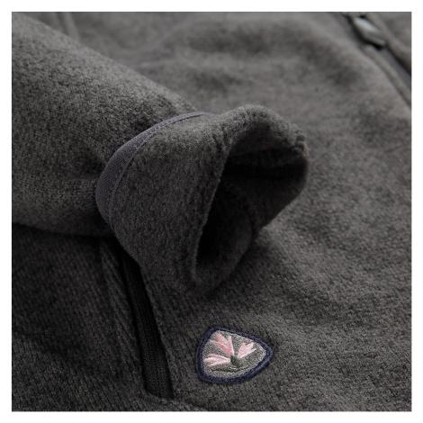 Dámský svetr Alpine Pro HOBA 3 - tmavě šedá