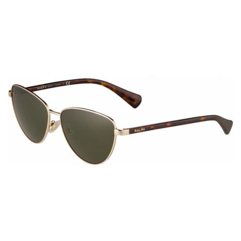 Ralph Lauren Sluneční brýle 'RA4134' zelená / hnědá / koňaková / zlatá