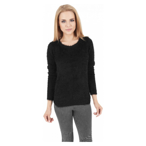 Ladies Nylon Feather Crew - black Urban Classics