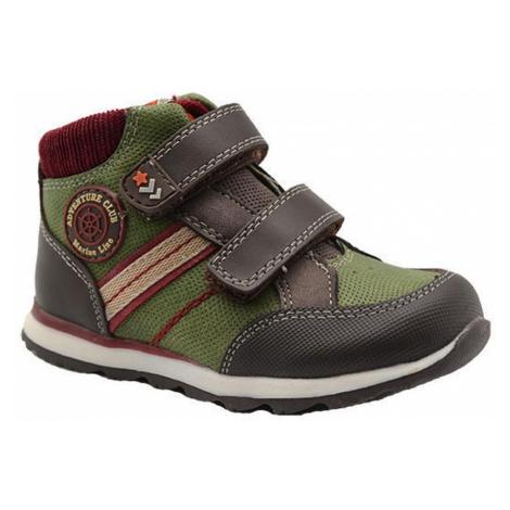 Khaki chlapecké celoroční boty Karen Pidilidi