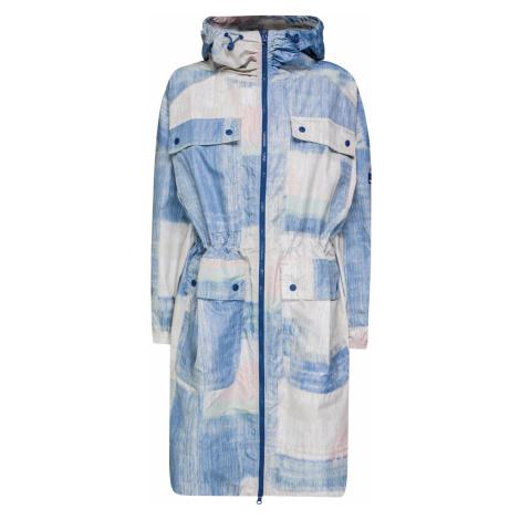 Plášť Adidas by Stella McCartney PRINTED modrá|vzorkování