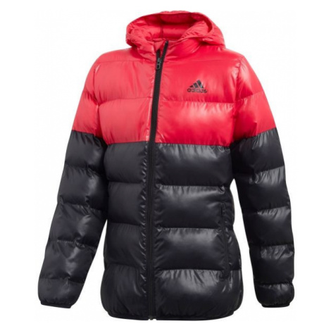 adidas SYNTHETIC DOWN GIRLS BTS JACKET růžová - Dívčí bunda