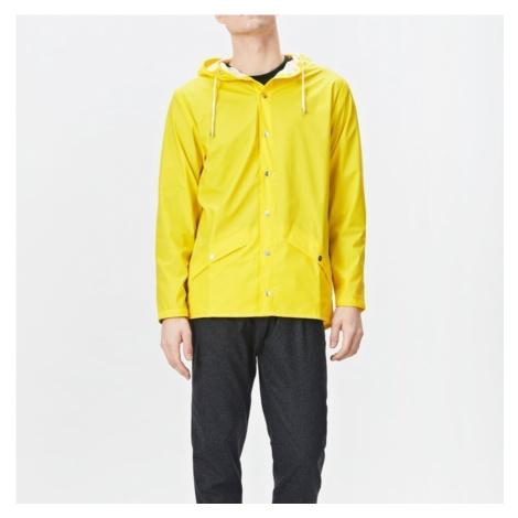 Žlutá voděodolná bunda Jacket RAINS