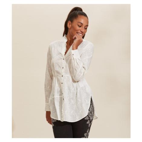 Košile Odd Molly Vivian Shirt - Bílá