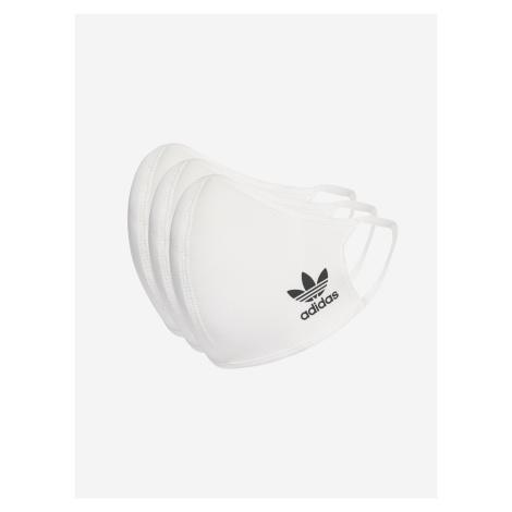 Rouška 3 ks adidas Originals Bílá