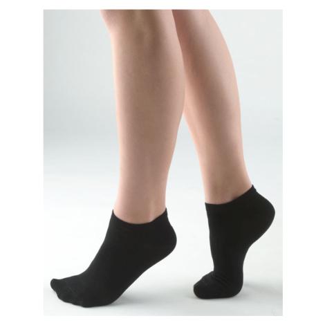 GINA Ponožky kotníčkové 82005-MxC černá