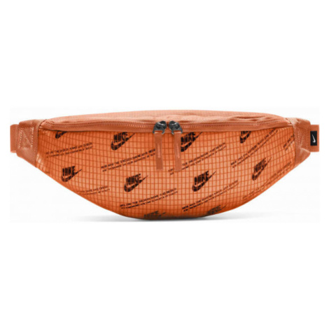 Nike HERITAGE HIP PACK oranžová - Ledvinka