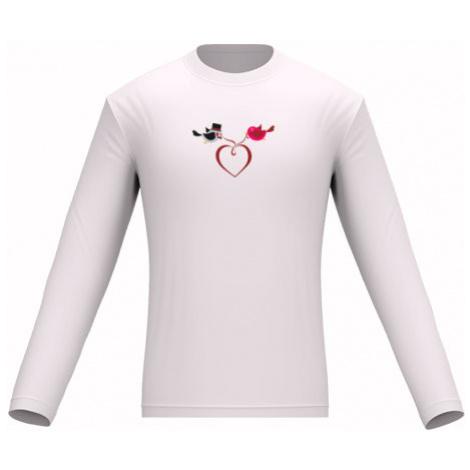 Pánské tričko dlouhý rukáv Zamilovaní ptáčci