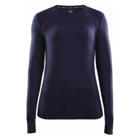 Dámské tričko CRAFT Fuseknit Comfort LS tmavě modrá