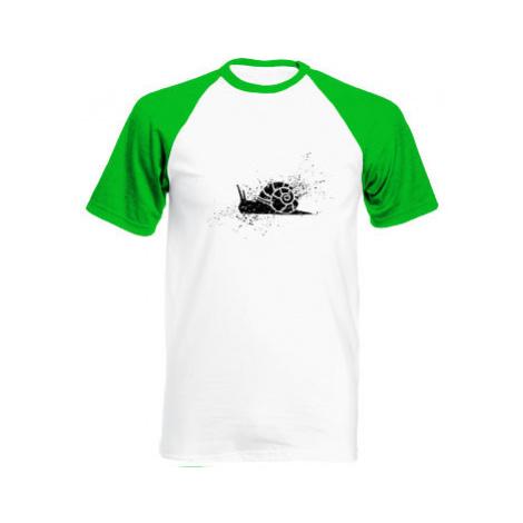 Pánské tričko Baseball Šnek