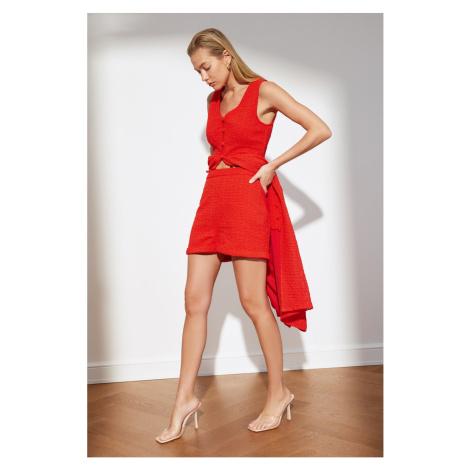 Trendyol Red Basic Shorts & Bermuda