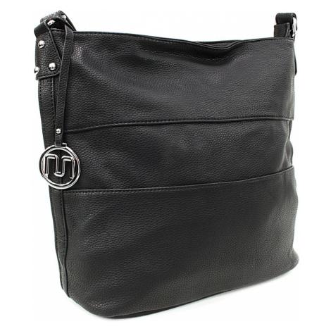 Černá velká dámská kabelka Orlenda Mahel