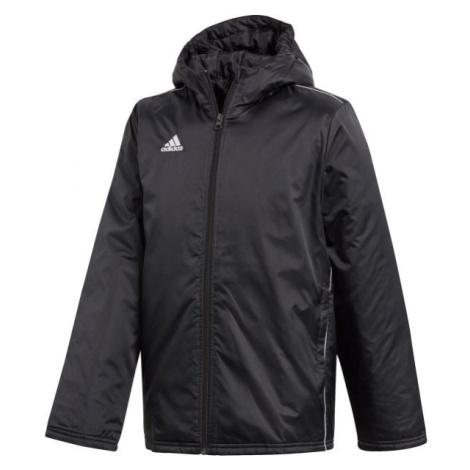 adidas CORE18 STD JKT černá - Chlapecká sportovní bunda