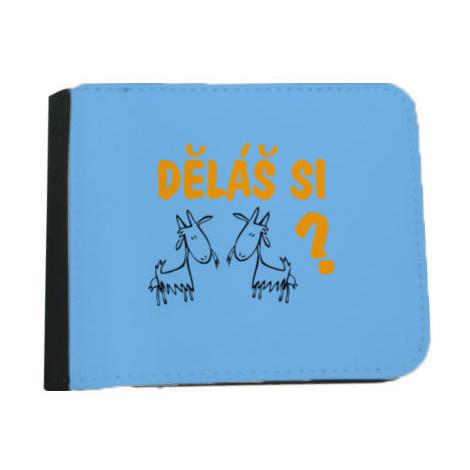 Pánská peněženka Děláš si kozy