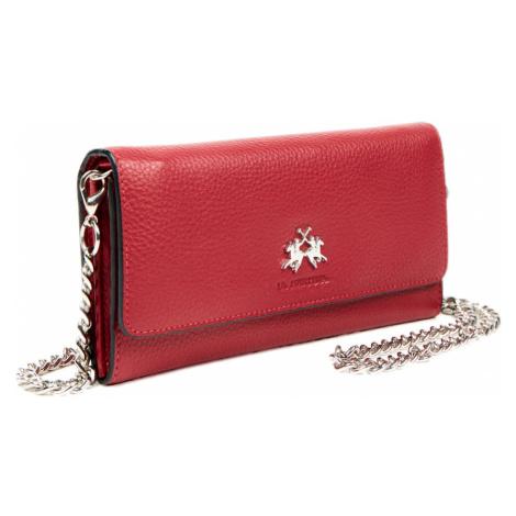 Kožená bordó peněženka - LA MARTINA