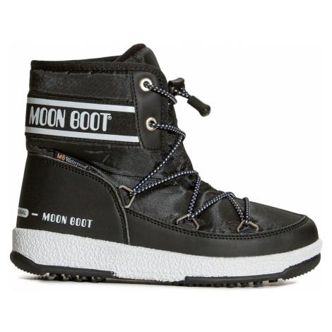 Sněhule Moon Boot JR BOY MID WP 2 černá