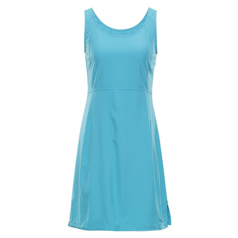 Dámské šaty Alpine Pro ELANDA 3 - světle modrá