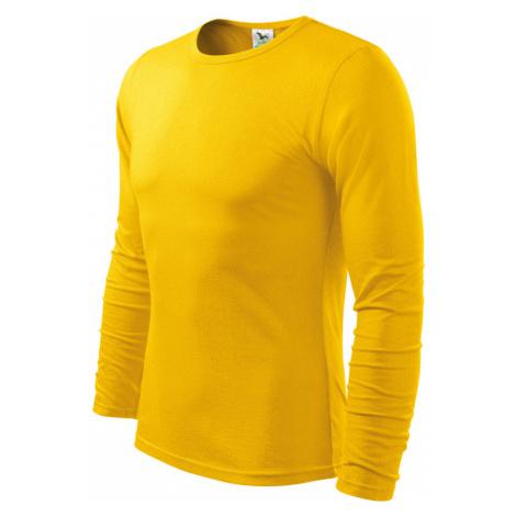 Malfini FIT-T Long Sleeve Pánské triko 11904 žlutá