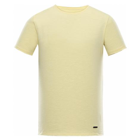 ALPINE PRO DRAN Pánské triko MTST596217 mellow yellow