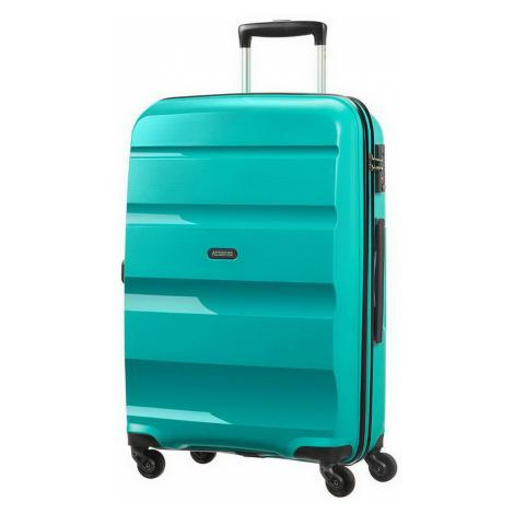 Střední kufr American Tourister BON AIR SPIN.66/25 - tyrkys 59423-4517 DEEP TURQUOISE