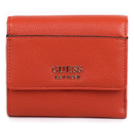 Guess dámská malá oranžová peněženka