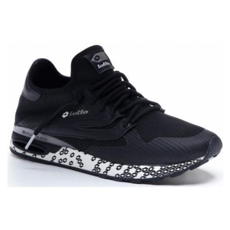 Lotto ATHLETICA RUN LIGHT černá - Pánská volnočasová obuv